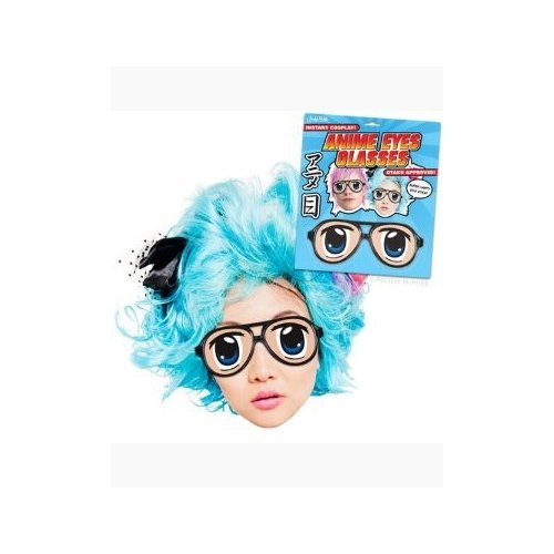 Accoutrements Archie McPhee Anime Eyes Glasses Novelty - 1