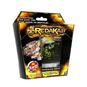 Redakai Card Game Imperiaz Structure Deck 44 Cards