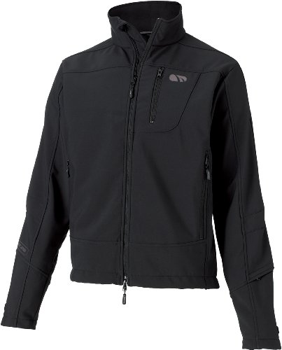 Madison Trail Mens Water Resistant Jacket, Black Medium