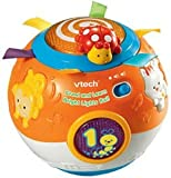 VTech Baby Crawl and Learn Bright Lights Ball (Orange) Damaged Box