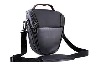 Etui imperméable noir pour appareils photoCanon EOS 100D 550D 600D 6500D 700D 1100D 1200D,50D 60D 70D,7D,6D SX50,Nikon D7100 D7000 D5300 D5100 D5200,D3100,D3200 D3300,D800,L830 P520 FUJI FinePix HS30 HS50 X-S1 S4500 S8600,Panasonic FZ72 FZ200,G6 GH6,OLYMPUS E30 E3 E1,Sony HX400 HX300 A58,A65,A99,A77,Pentax DSLR Reflex Numériques