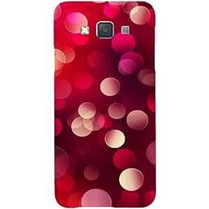 Casotec 3D Circles Design Hard Back Case Cover for Samsung Galaxy A3
