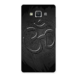 Cute Om Grey Back Case Cover for Samsung Galaxy A5