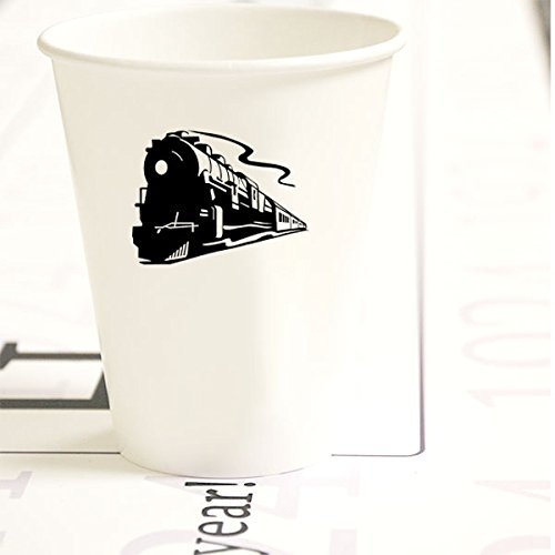 STEAM TRAIN CUPS (8/Pkg) by Partypro