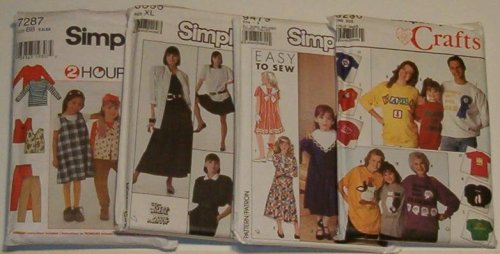 Simplicity Sewing Patterns (Assorted)