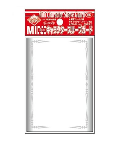 Kadobaria mini character sleeve guard hard type (frame design) - 1