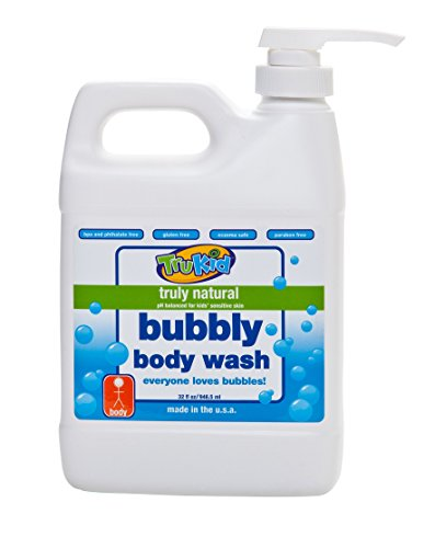 TruKid Bubbly Body Wash 32 Ounce Family Size