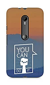 Amez You can Do It! Back Cover For Motorola Moto Turbo