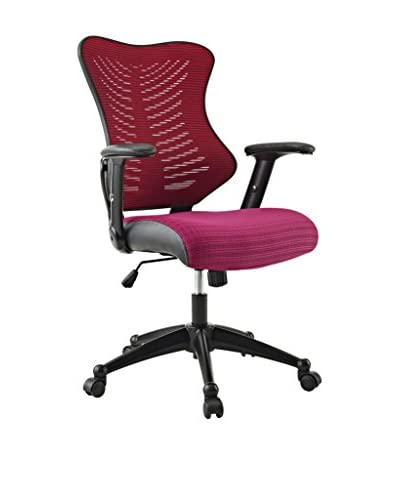 Modway Clutch Office Chair, Burgundy