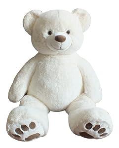 """Giant Teddy Bear 40"""" - Cream Color by Chrisha Creations"""