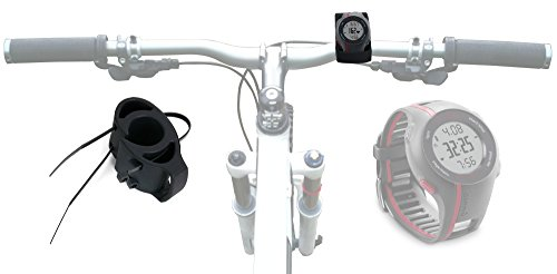 DURAGADGET Supporto Manubrio Bicicletta Per Garmin Forerunner 235 / Vivoactive HR / 630 / 10 / 15 / 310 XT / 920 XT / 910 XT / 405CX / 610 / 220 / 210 / 110 / 620 / 410 / 405