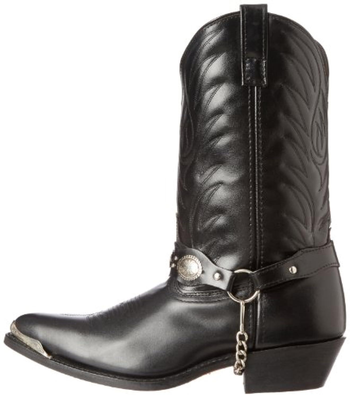 Laredo Men S Tallahassee Western Boot Black 10 5 D Us