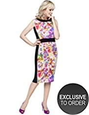 Twiggy for M&S Woman Floral Block Dress