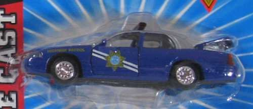 NEVADA HIGHWAY PATROL Road Champs 1998 Ford Crown Victoria Police Series Die Cast Car 1:43 Scale