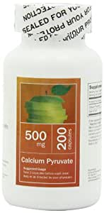 All Nature Calcium Pyruvate 500 Mg 200 Caps
