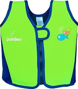 Swimbest Swim Jacket / Swim Vest - Lime/Royal Blue - 18 mths to 3 yrs approx