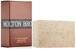 Molton Brown Re-Charge Black Pepper Bodyscrub Bar, 8.8 oz.