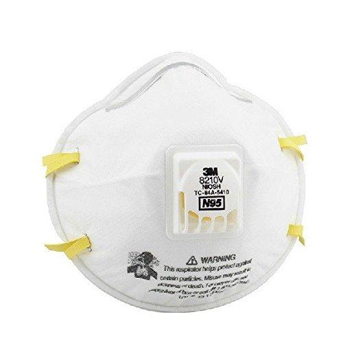 Doradus 8210V CoolFlow Valve PM2.5 Dust Particles Respirator Mask N95 Respiratory Protection Adjustable Mask