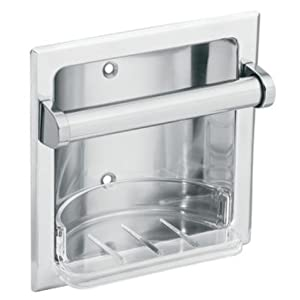 Moen 2565CH Donner Commercial Soap Holder, Chrome