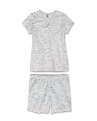 Sanetta Pijama Niña Blanco