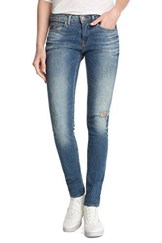 edc by ESPRIT - Skin, Jeans da donna, blu(blau (c medium blue tinted 959)), 46/48 it (33w/34l)