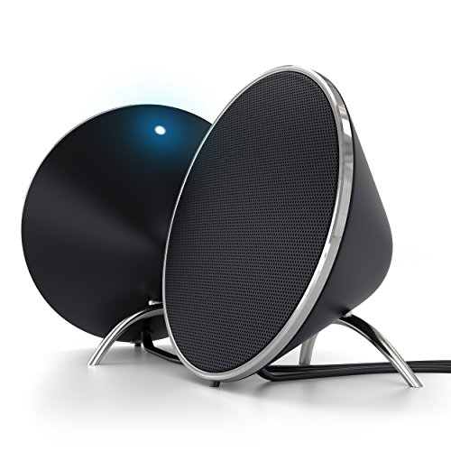 Satechi-Dual-Sonic-kegelfrmiger-Lautsprecher-v20-fr-Apple-Macbook-Pro-Air-Asus-Acer-Samsung-Dell-Toshiba-HP-Sony-Vaio-und-viele-weitere-Modelle-Schwarz