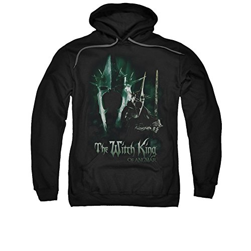 The Lord of The Rings Movie Witch King Adult Pull-Over Hoodie