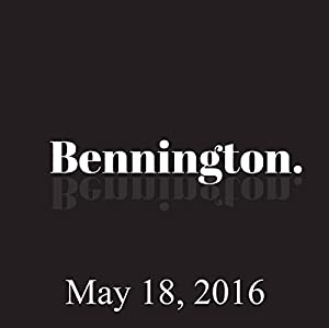 Bennington, Josh Gad, May 18, 2016 Radio/TV Program