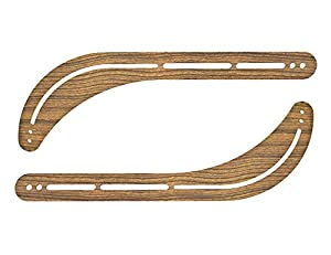 Sewell Universal Soundbar Bracket, Steel with Walnut Grain from Sewell