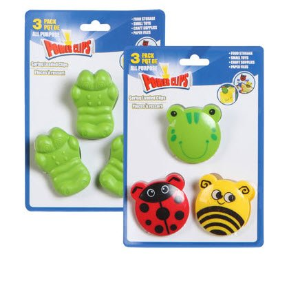 Animal All Purpose Spring Loaded Power Clips