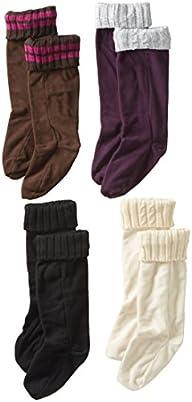 Steve Madden Legwear Women's 4 Pack F…
