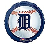 Detroit Tigers Baseball - Foil Balloon Party Accessory at Amazon.com