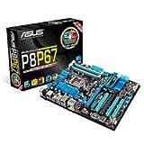ASUSTek マザーボード Intel LGA1155/DDR3メモリ対応 ATX P8P67 REV3.0