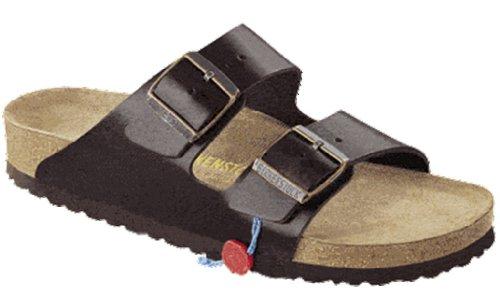 Birkenstock Women'S Arizona 2-Strap Soft Cork Footbed Sandal Brown 38 M Eu front-996516