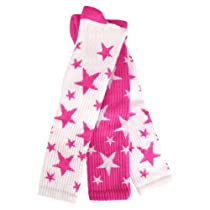 Red Lion Pair and Spare Star Mix Or Match Athletic Socks (Neon Pink / White - Medium)