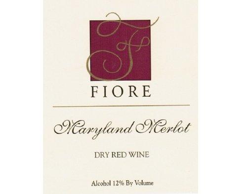 2011 Fiore Winery Maryland Merlot 750 Ml