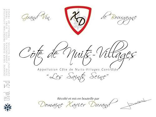 2012 Domaine Xavier Durand: Cote De Nuits Villages 750 Ml