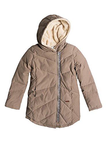 chilly-daze-roxy-felpa-con-zip-da-donna-marrone-marron-walnut-m