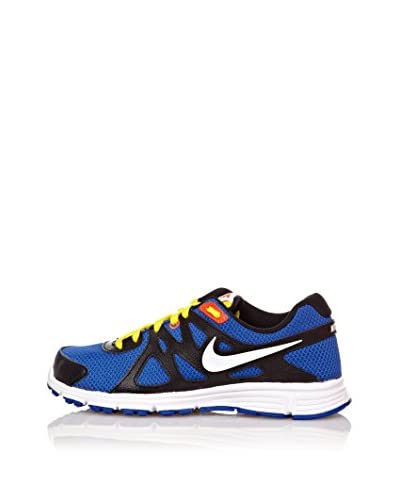 Nike Sneaker Revolution 2 Gs [Blu/Giallo]