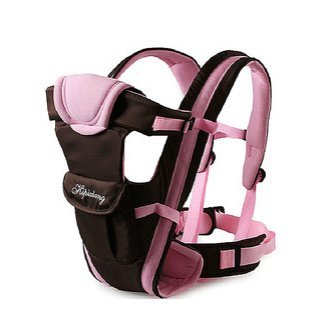 Happy Bear - Baby Carrier , Baby Wrap #3006 (Pink) front-20654