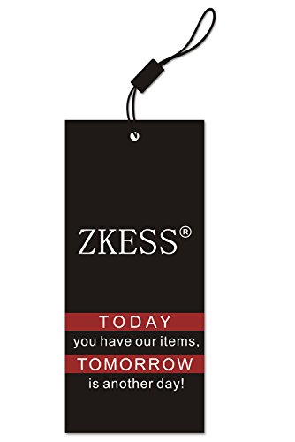 Zkess Women's Sleeveless Evening Gown Long Dress Medium Size White