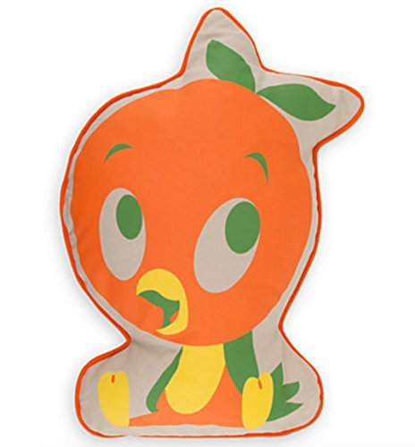 Disney Parks Exclusive Florida Orange Juice Bird Throw Pillow Cushion (Disney World Pillow compare prices)