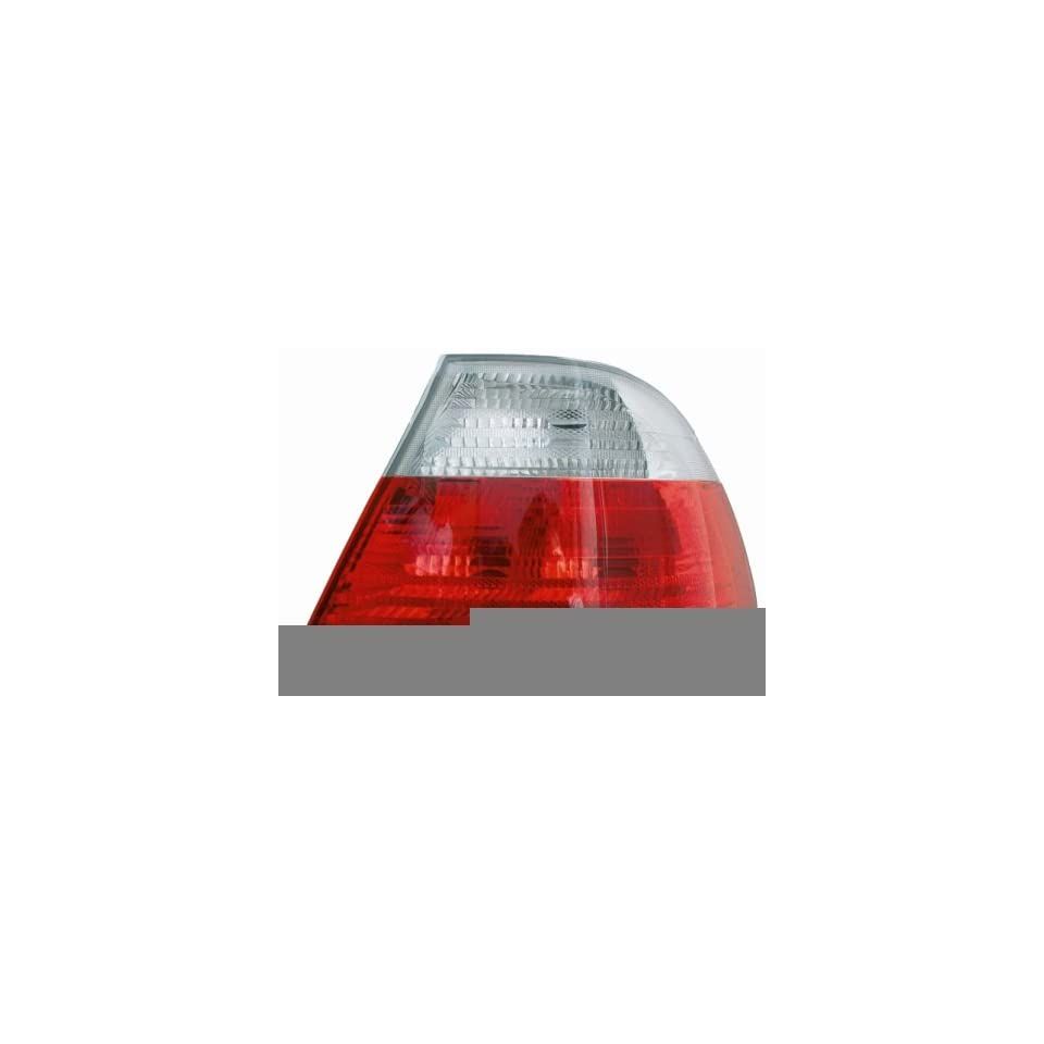 BMW 3 Series (Coupe) (White) Composite Tail Light Lens and Housing RH (passengers side) 11 5995 91 2000, 2001