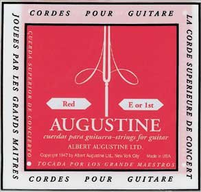 AUGUSTINE CLASSIC-RED MEDIUM TENSION CLASSICAL