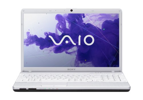 Sony VAIO EH2 Series VPCEH24FX/W 15.5-Inch Laptop (Glacier White)