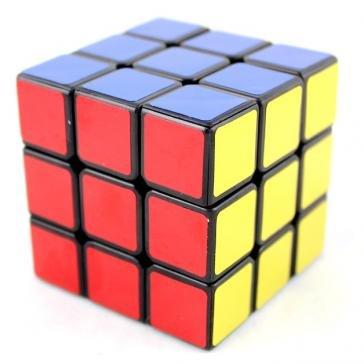 1 X Fangshi Shuang Ren V2 3x3x3 57mm Black Speed Cube Puzzle FUNS 3x3 - 1
