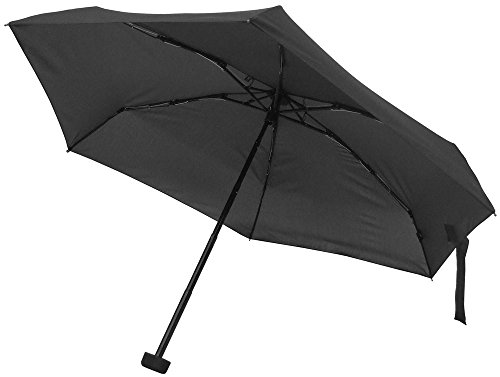 Euroschirm Small Lightweight Trekking Dainty Umbrella Black
