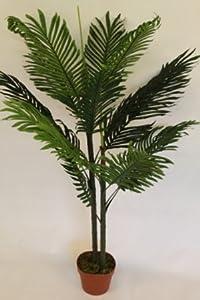 Plante artificielle palmier kentia artificiel hauteur 1 for Amazon plante artificielle