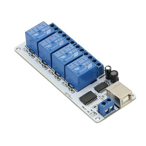 Sainsmart Usb 4 Channel Relay Automation 12V