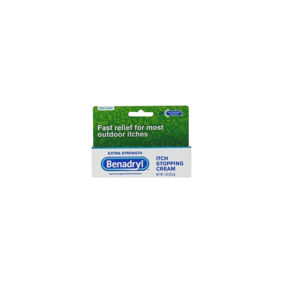 Benadryl Itch Stopping Cream Extra Strength, 1 oz on PopScreen